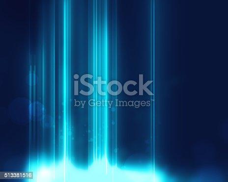 540565484istockphoto blue geometric  shape abstract technology background 513381516