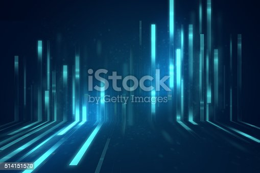 istock blue geometric  shape abstract technology background 514151570