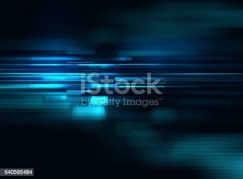 istock blue geometric  shape abstract technology background 540565484