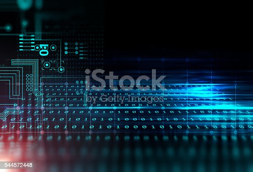 istock blue geometric  shape abstract technology background 544572448