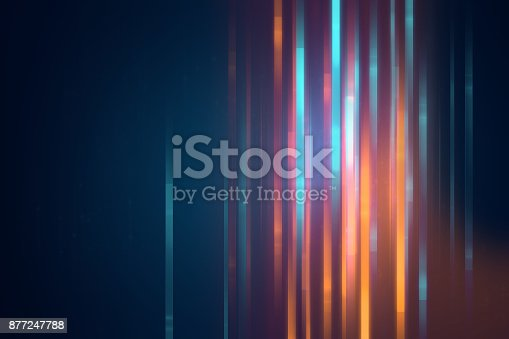 istock blue geometric  shape abstract technology background 877247788
