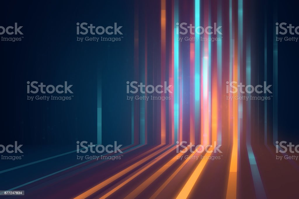 blue geometric  shape abstract technology background royalty-free stock photo