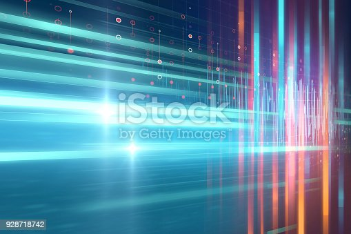 istock blue geometric  shape abstract technology background 928718742