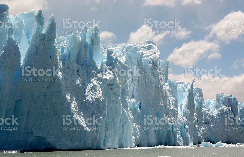 Blue Glacier royalty-free stock photo