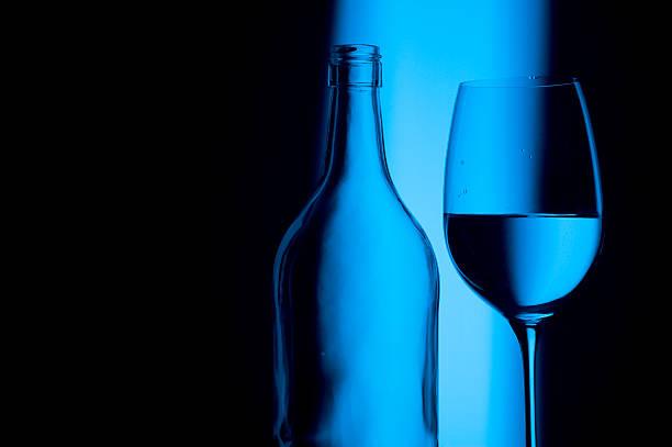 Cristal azul - foto de stock