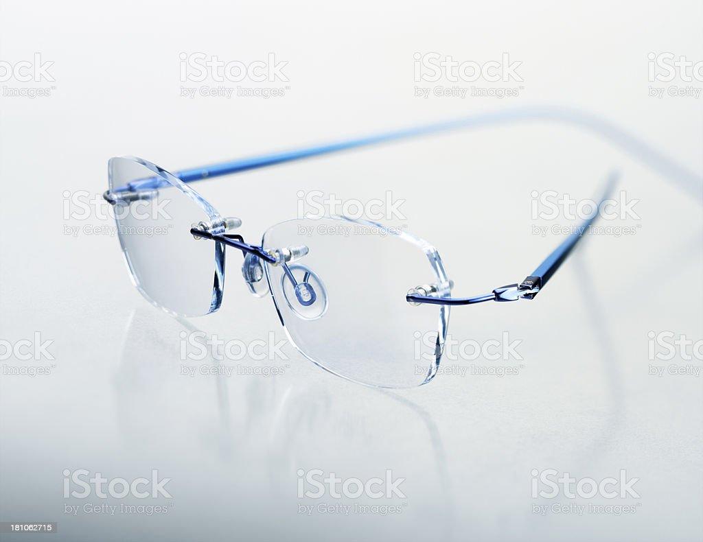 Blue Glasses royalty-free stock photo