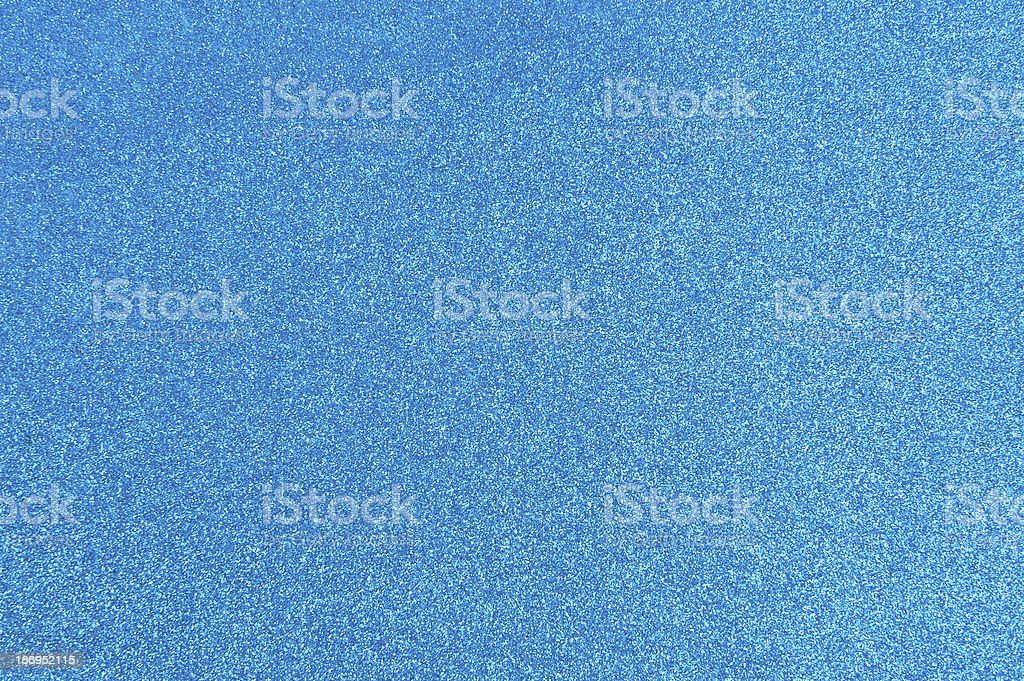 Blue glitter stock photo