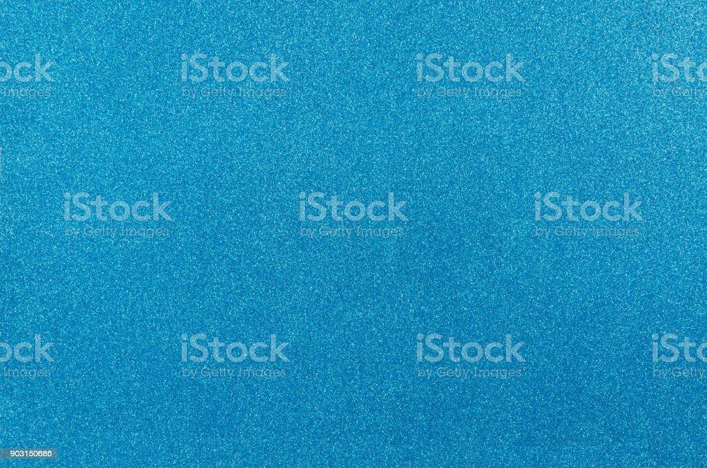 Blue glitter texture background. stock photo