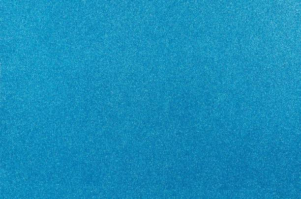 Blue glitter texture background. stock photo