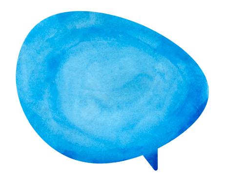 istock Blue Globe Speech Bubble 175488496