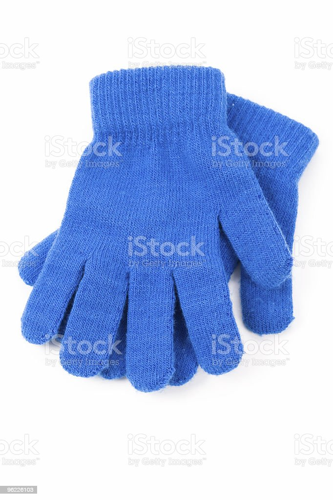 Blue Glove royalty-free stock photo