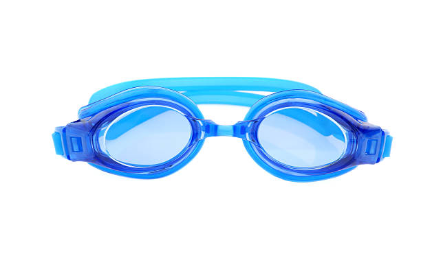 Blue Goggles  swimming goggles stock pictures, royalty-free photos & images