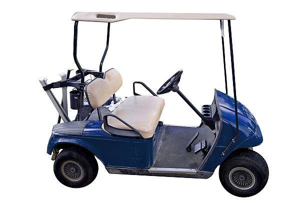 Best Golf Cart Isolated Stock Photos, Pictures & Royalty