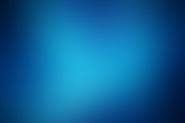 blue gradient soft background Abstract blur blue background, soft defocused blurred texture, gradient design with space for text, illustration of deep water sky blue stock pictures, royalty-free photos & images