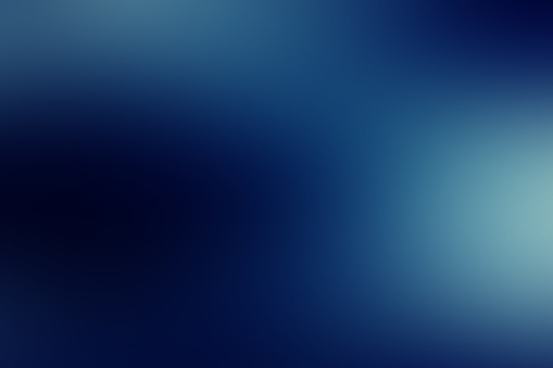 Abstract blur blue background, soft defocused blurred texture, gradient design with space for text, illustration of deep water