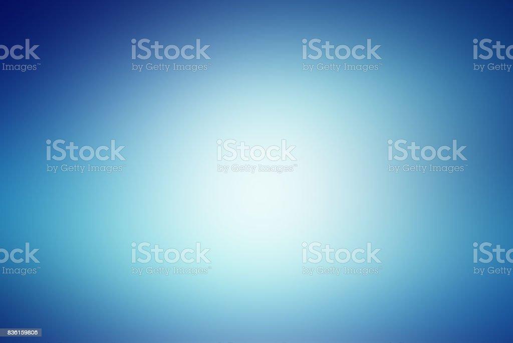 blauer Hintergrund mit Farbverläufen weich – Foto