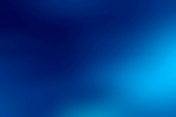 blue gradient soft background stock photo