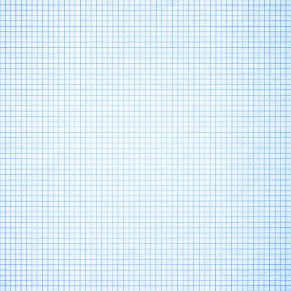Blue graph paper background textured