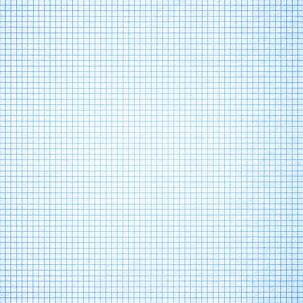 blue graph paper background textured - grid pattern stock photos and pictures
