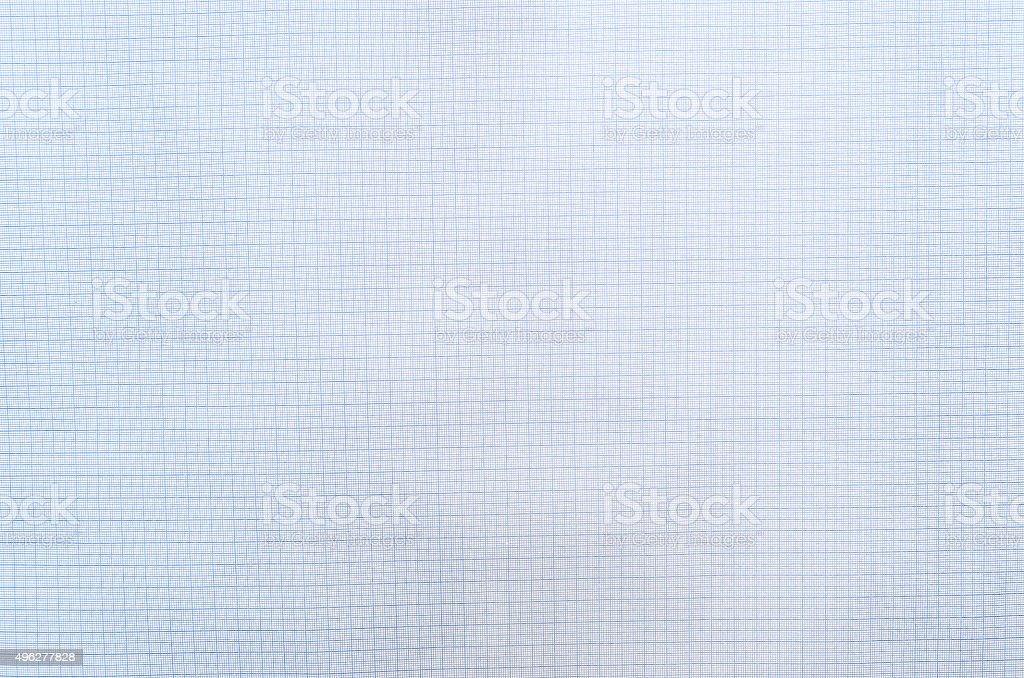 Niebieski Papier milimetrowy – zdjęcie