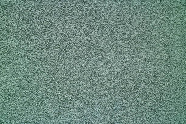 blaugrau gefärbt grobe betonwand, vorderansicht für hintergrund, banner, textur - rauhfaser stock-fotos und bilder