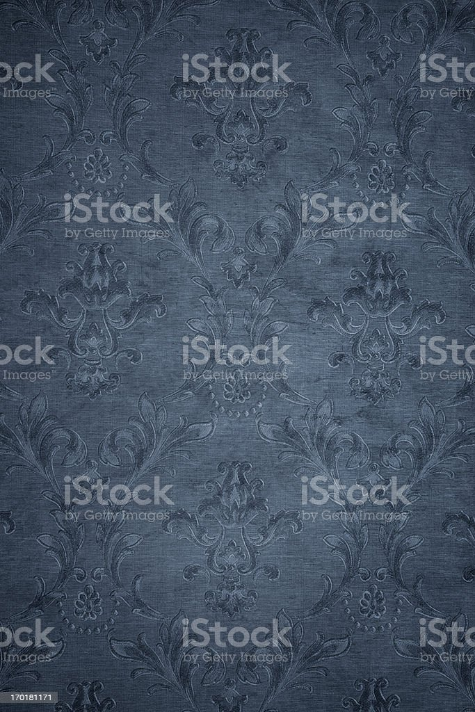 Blue Gray Victorian Background royalty-free stock photo