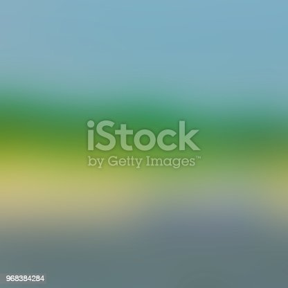 istock Blue green abstract blurred background 968384284