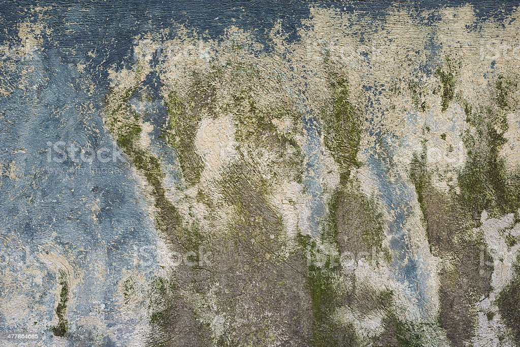 Blue Green Abstract Rough Scratched Weathered Grungy Detailed Background Texture royalty-free stock photo