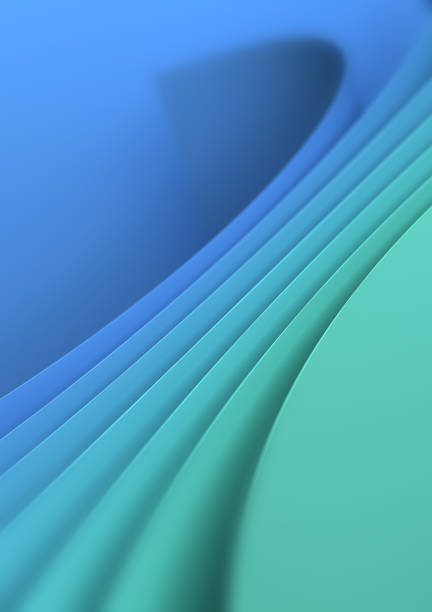 Blue Green Background stock photo