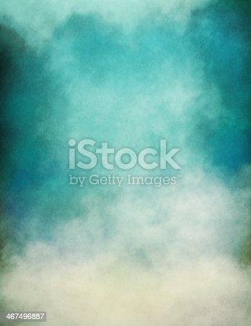 istock Blue Green Fog 467496887