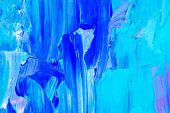 Blue, green, teal and pink abstract background art