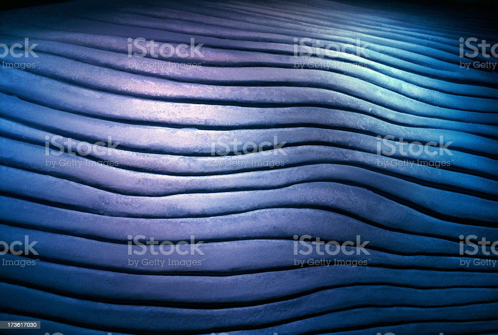 blue grooved texture royalty-free stock photo