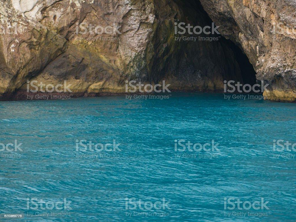 Blue Grotto, Arraial Do Cabo, Rio de Janeiro zbiór zdjęć royalty-free