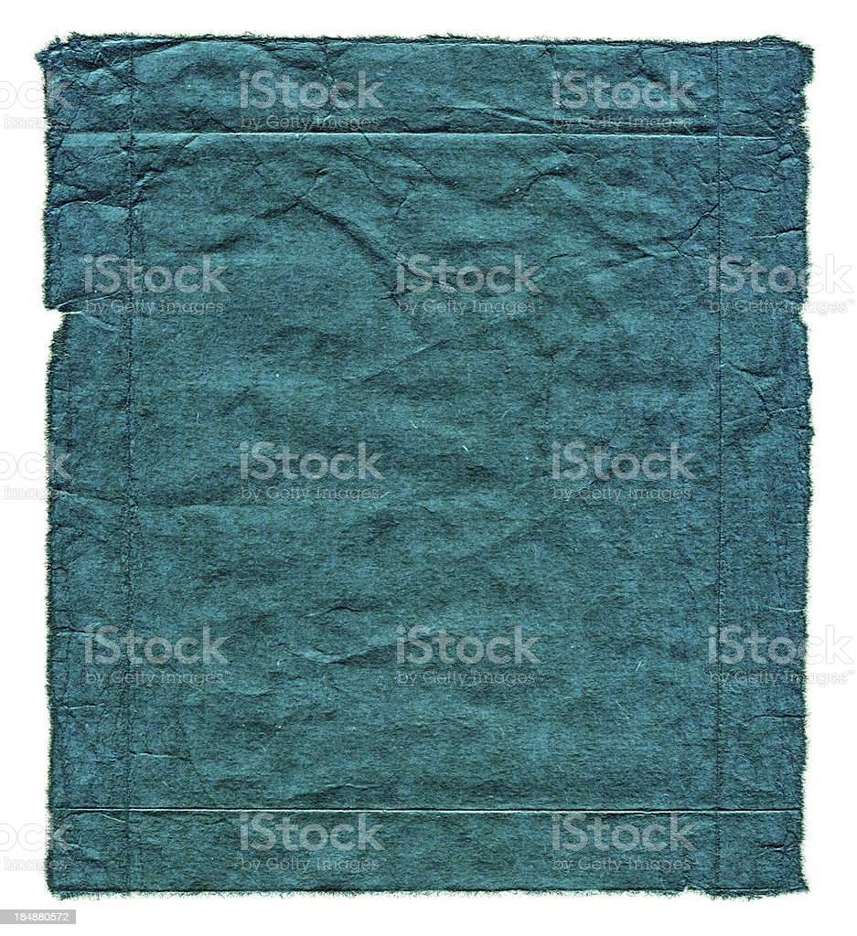 Blue grunge paper background textured royalty-free stock photo