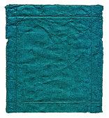 istock Blue grunge paper background textured 184880572
