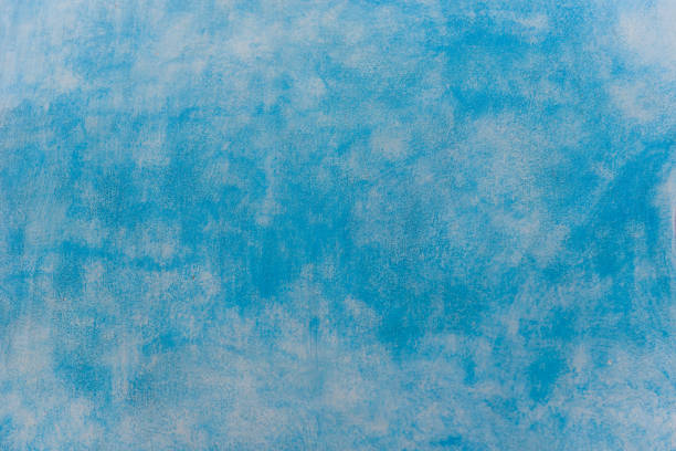 Blauer Grunge Wandbeton-Hintergrund – Foto