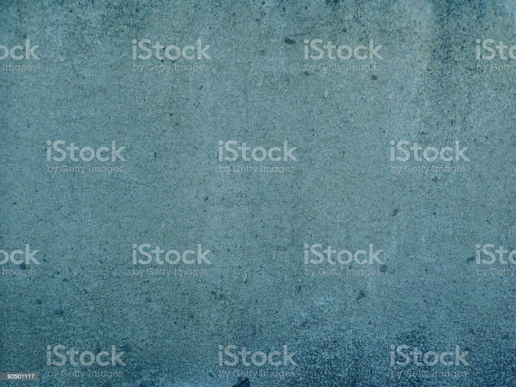 Blue grunge wall excellent for background royalty-free stock photo