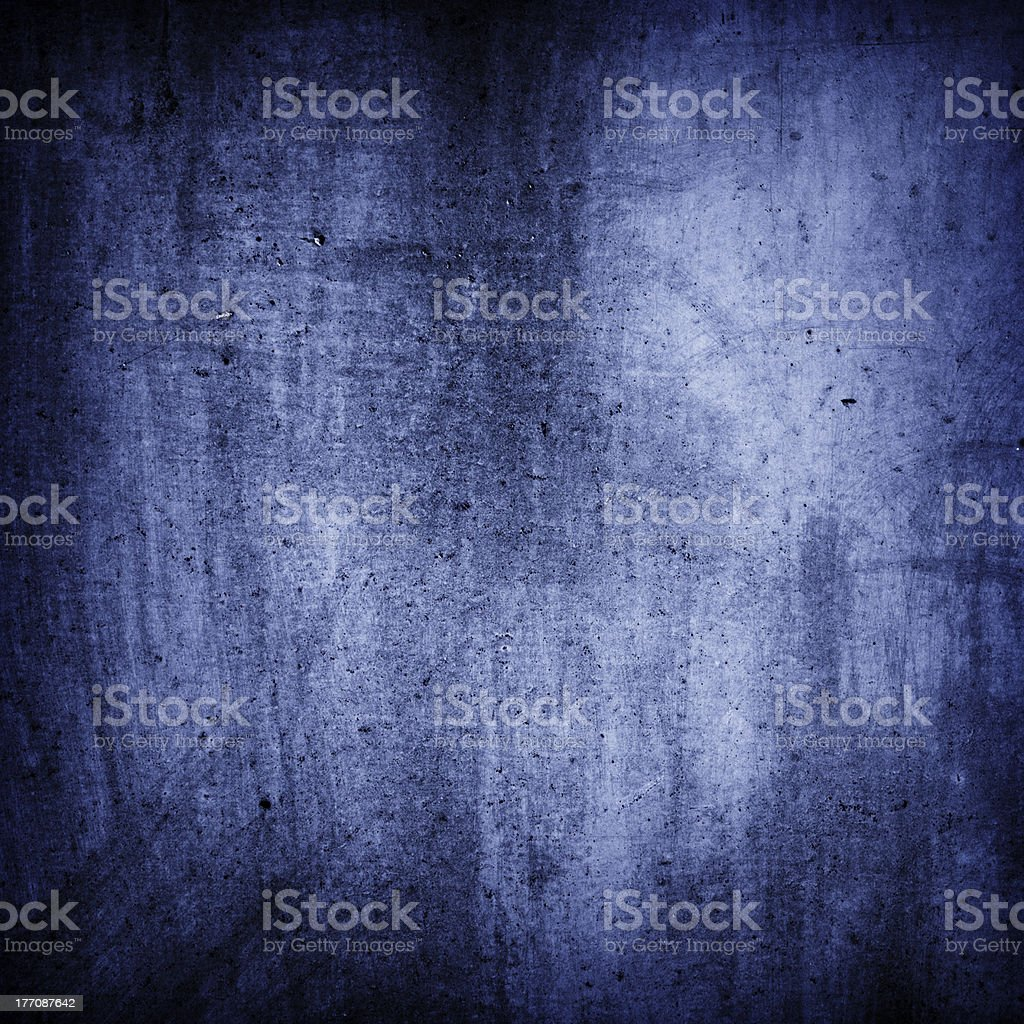 Blue grunge wall texture background royalty-free stock photo