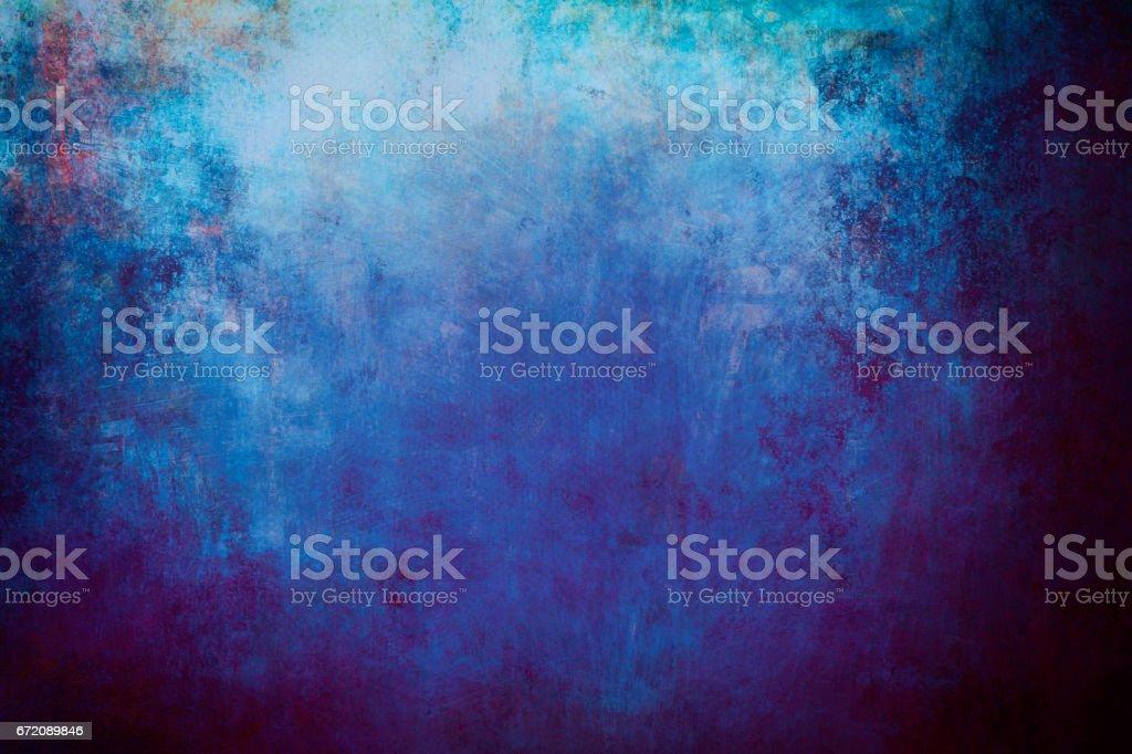 藍色的蹩腳畫布背景或紋理圖像檔