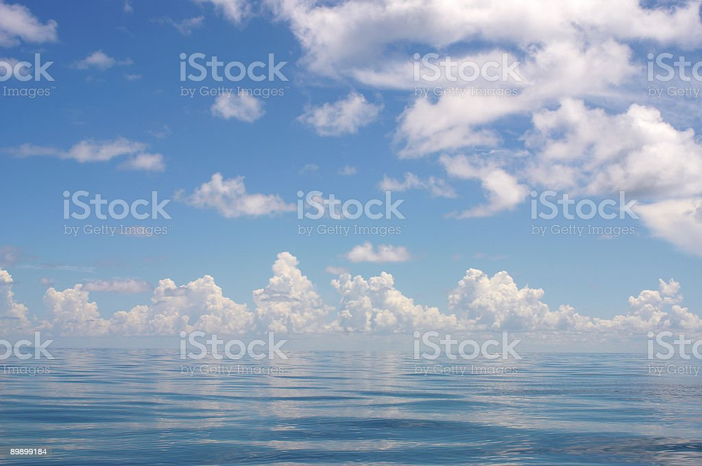 Blue Gulf 3 royalty-free stock photo