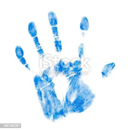 istock Blue Hand 165180291