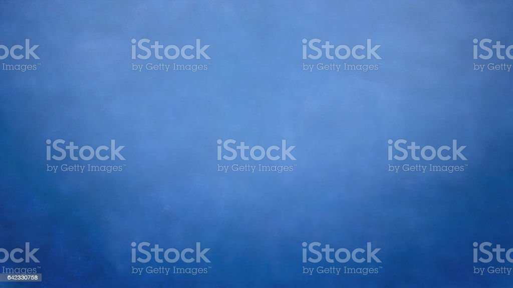 Blue hand-painted backdrops stock photo