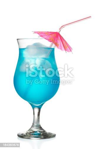 istock Blue Hawaiian Coctail 184383876