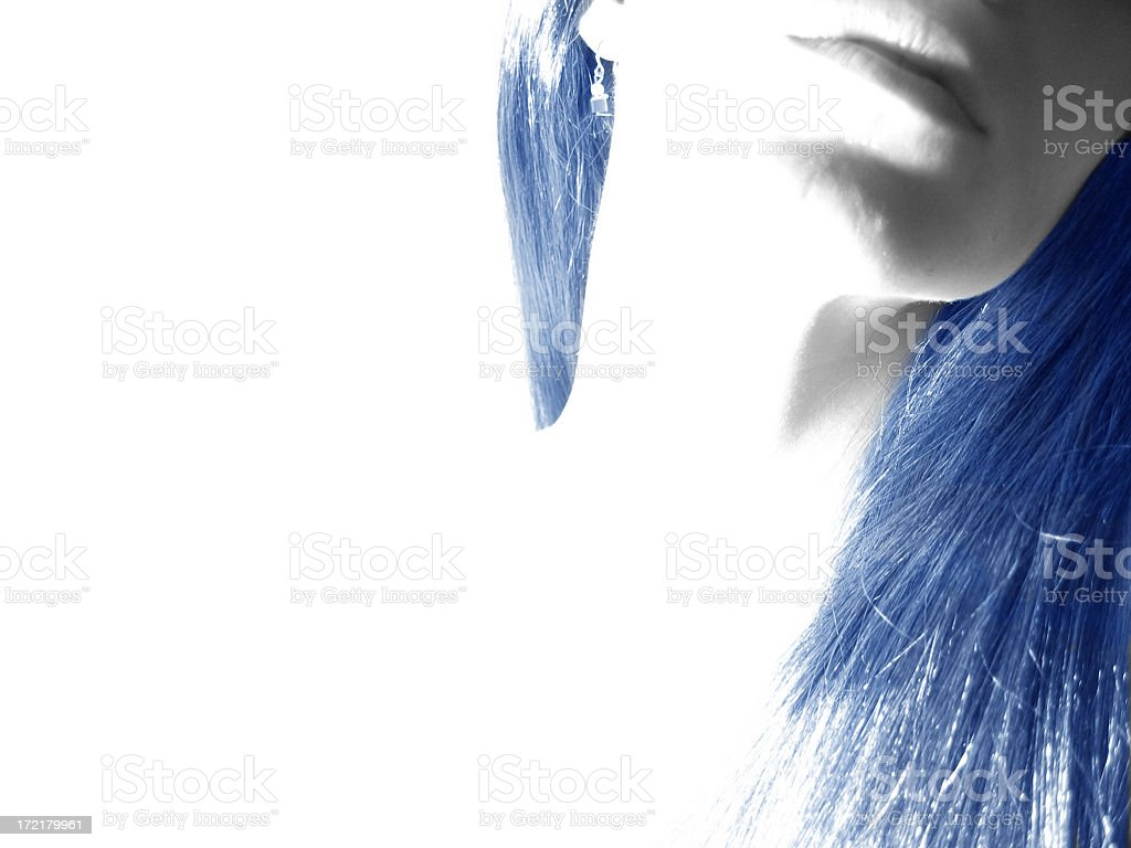 Blue Haze royalty-free stock photo