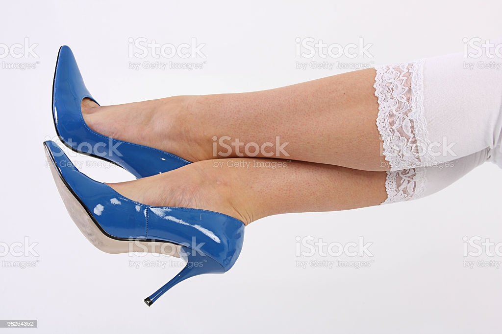 Blue Heels royalty-free stock photo