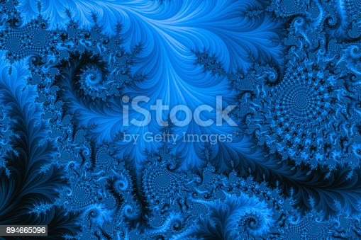 Background created by fractal geometry.