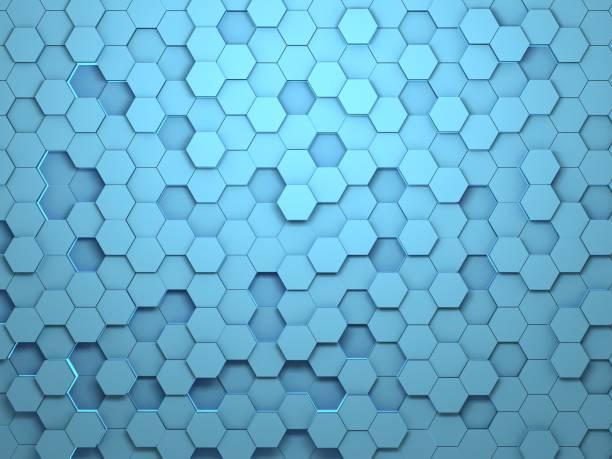 藍色蜂窩 - 蜂巢式樣 個照片及圖片檔