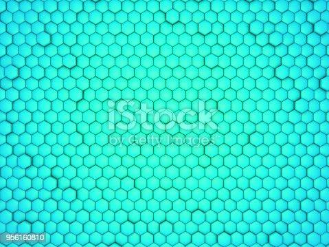 165853308istockphoto blue honeycomb 956160810