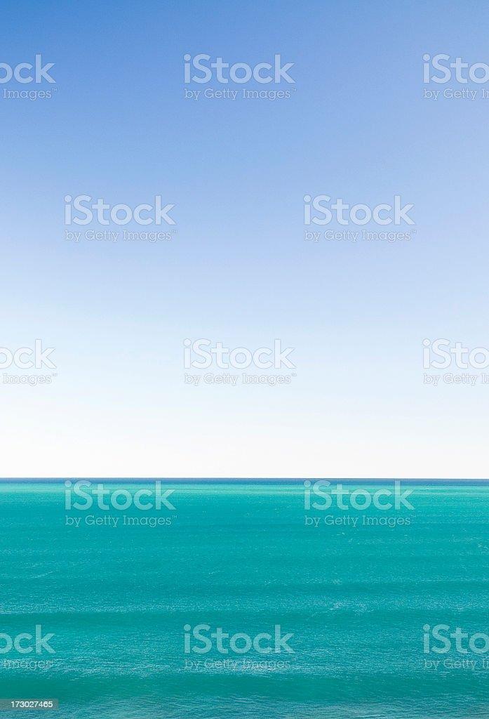 Blue Horizon royalty-free stock photo