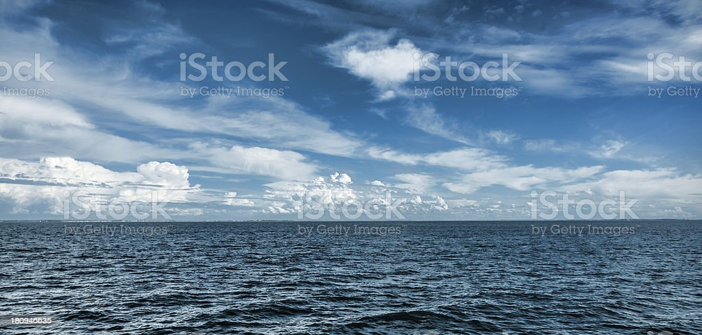 Blue Horizon stock photo